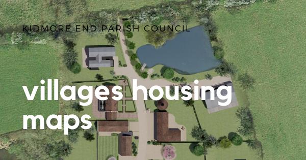 Kidmore End villages housing map
